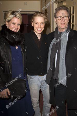 Fiona Golfar, Freddie Fox and Robert Fox