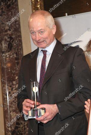 Prince Hans Adam II of Liechtenstein presented with the Golden Arrow award