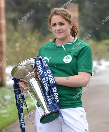 Fiona Coughlan, captain of Ireland Women