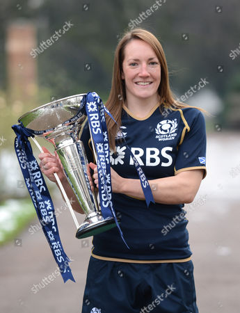Stock Picture of Susie Brown, captain of Scotland Women