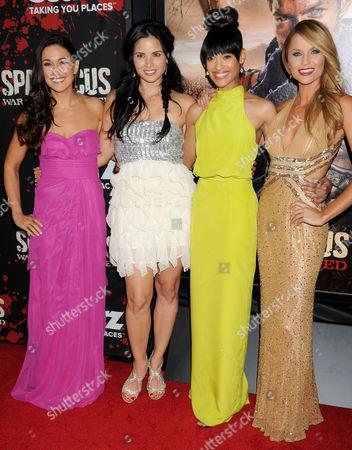 Jenna Lind, Katrina Law, Cynthia Addai-Robinson and Ellen Hollman