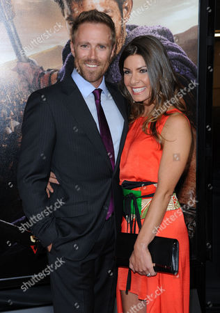 Stock Image of Ditch Davey and wife Sofia
