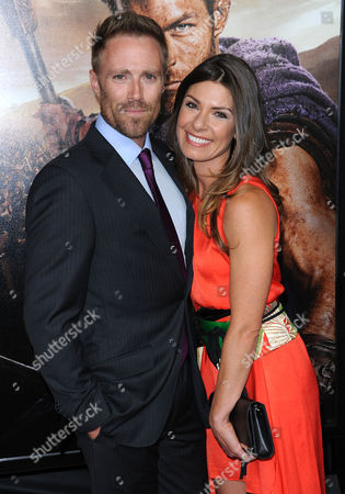 Stock Photo of Ditch Davey and wife Sofia