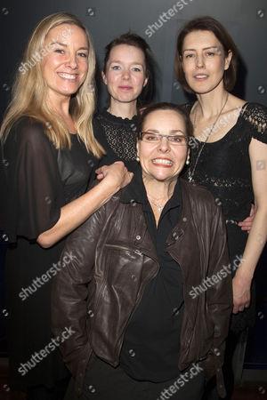 Tamzin Outhwaite (Di), Anna Maxwell Martin (Rose), Anna Mackmin (Director) and Gina Mckee (Viv)