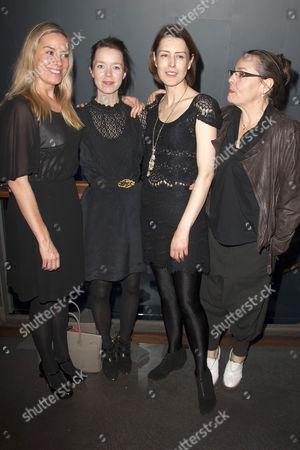 Tamzin Outhwaite (Di), Anna Maxwell Martin (Rose), Gina Mckee (Viv) and Anna Mackmin (Director)