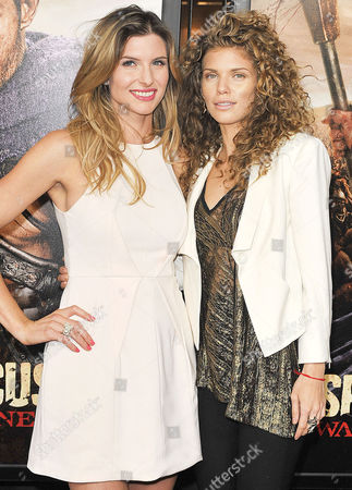 Stock Picture of Viva Bianca and AnnaLynne McCord