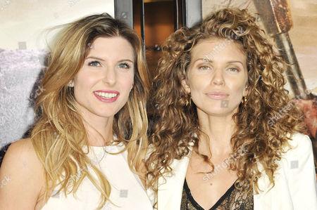 Stock Photo of Viva Bianca and AnnaLynne McCord