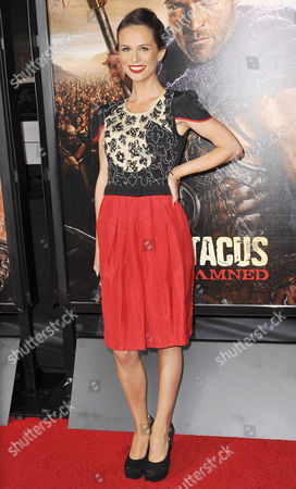 Editorial photo of 'Spartacus: War of the Damned', TV series premiere, Los Angeles, America - 22 Jan 2013