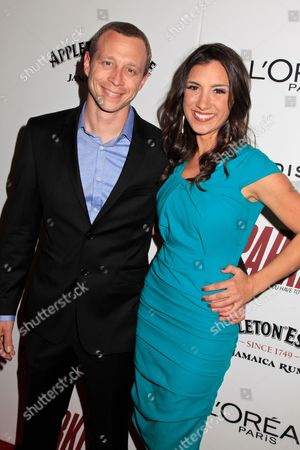 Stock Picture of Micah Hauptman and Annika Marks