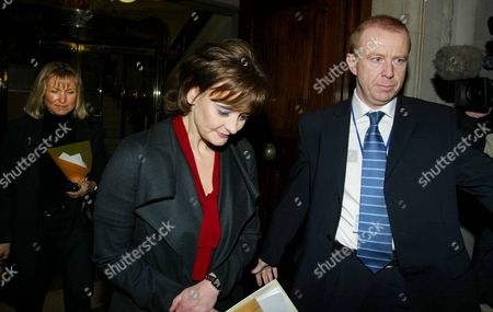 Cherie Blair Leaves At No. 4 Millbank Followed By Fiona Miller Before Making A Statement To The Press In Westminster Central London Tuesday 10 December 2002. Cherie Blair Broke Down In Tears Tonight As She Confronted The Controversy Surrounding Convicted Fraudster Peter Foster's Role In Buying Two Flats For The Prime Minister And Her. Mrs Blair Said She Did Not Know The Full Details Of Mr Foster's Background Until A Couple Of Weeks Ago When The Police Alerted Her.