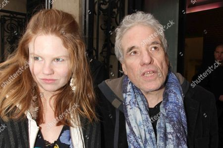 Stock Picture of Abel Ferrara and Shanyn Leigh