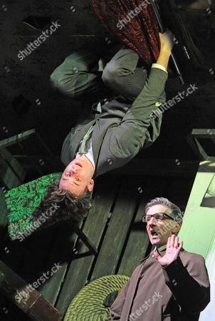 'Metamorphosis' - Gisli Orn Garoarsson as Gregor and Jonathan McGuinness as Herr Stietl