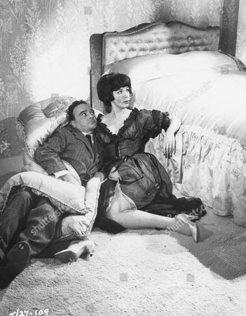 Kenneth Connor and Fenella Fielding