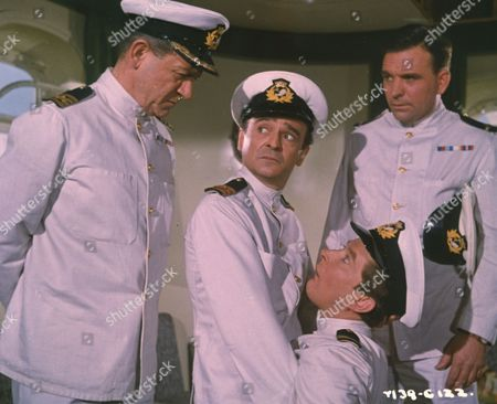 Sid James, Kenneth Connor, Kenneth Williams and Ed Devereaux