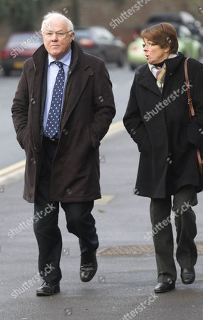 Stock Picture of John Moore and wife