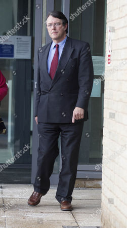 Editorial picture of David Brudenell-Bruce Assault Trial, Salisbury Magistrates Court, Wiltshire, Britain - 24 Jan 2013