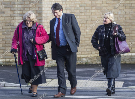 Stock Photo of David Brudenell-Bruce and mother-in-law and wife Joanna