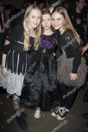 Lucy Morton, Isabella Blake and Emilia Jones