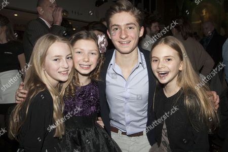 Editorial image of 'The Turn of the Screw' play press night after party, London, Britain - 24 Jan 2013
