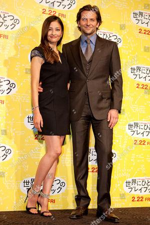 Stock Photo of Kuroki Meisa and Bradley Cooper