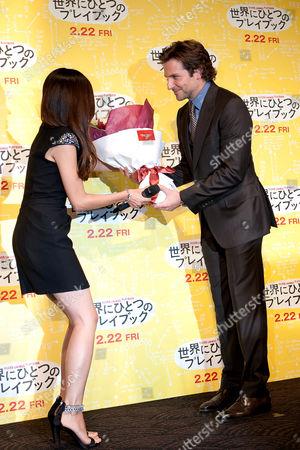 Editorial image of 'Silver Linings Playbook' film premiere, Tokyo, Japan - 24 Jan 2013