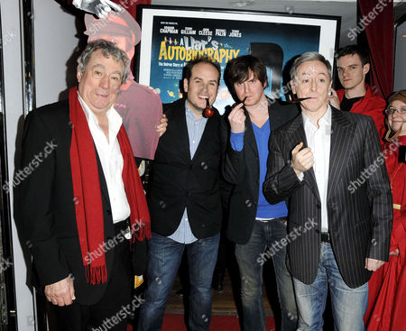 Terry Jones, Bill Jones, Ben Timlett and Jeff Simpson
