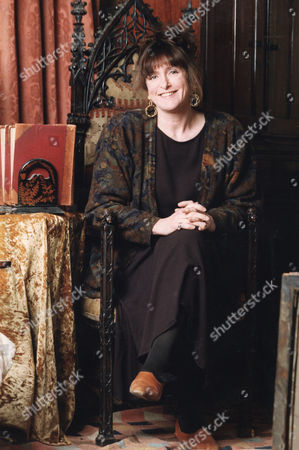 Lucinda Lambton Wife Of Peregrine Worsthorne Daughter Of Lord Lambton Who Is A Writer And T.v. Presenter.