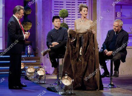 Alan Titchmarsh with Viking Wong, Paula Hamilton and Steven Hurwitz