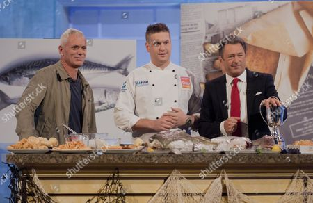 Jeremy Wade, Alastair Horabin and Alan Titchmarsh