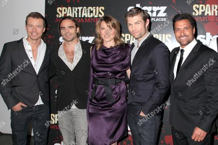Editorial picture of 'Spartacus: War of the Damned', TV series premiere, New York, America - 24 Jan 2013