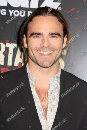Stock Image of Dustin Clare