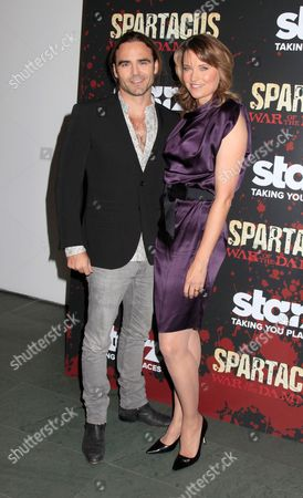 Editorial image of 'Spartacus: War of the Damned', TV series premiere, New York, America - 24 Jan 2013