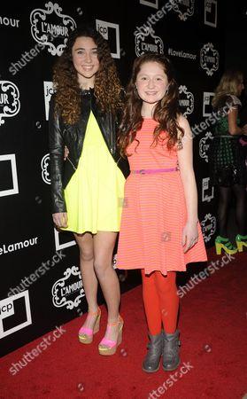 Violet Lepore and Emma Kenney
