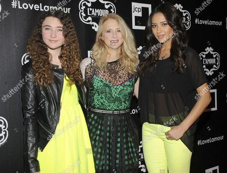 Violet Lepore, Nanette Lepore and Shay Mitchell