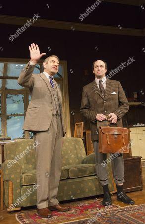 Rowan Atkinson and Will Keen