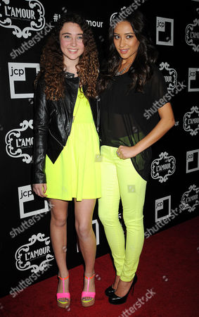Violet Lepore and Shay Mitchell