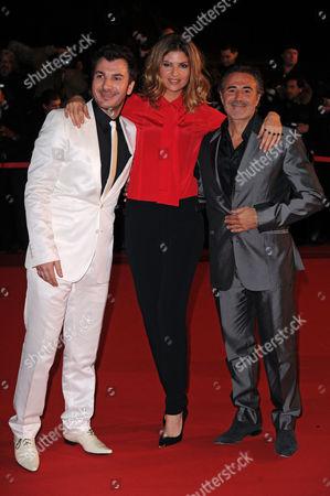 Jose Garcia, Isabelle Funaro and Michael Youn