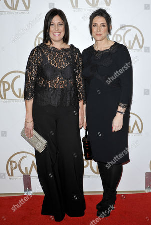 Pilar Savone and Stacey Sher