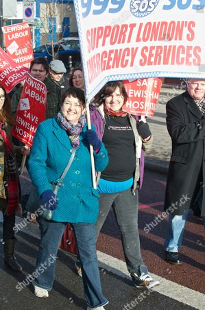 Editorial picture of Lewisham Hospital Protest, London, Britain - 26 Jan 2013