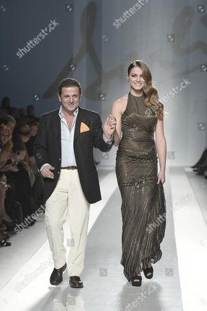 Carlo Alberto Terranova with Giusy Buscemi Miss Italia 2012