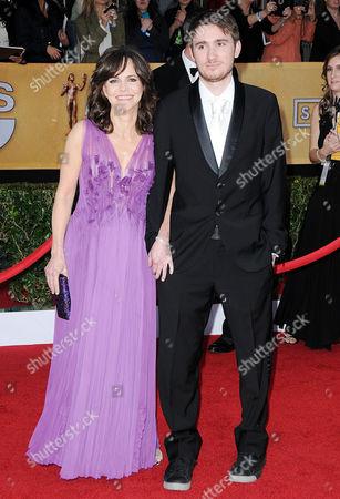 Sally Field and son Sam Greisman