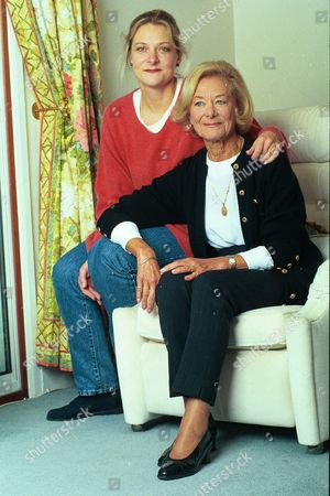 Mrs Valerie James And Daughter Sue. She Is The Widow Of Actor Sid James.