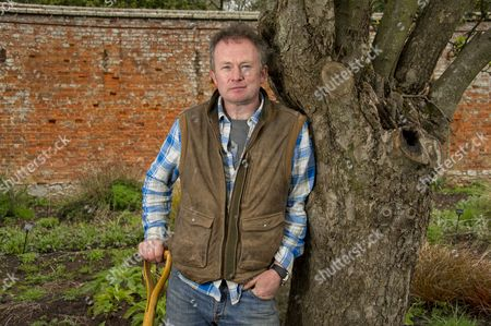 Editorial picture of Toby Buckland on his smallholding in Exeter, Devon, Britain - 13 Jul 2011