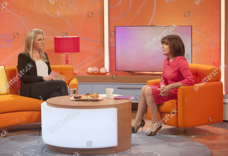 Tabitha Somerset-Webb and Lorraine Kelly