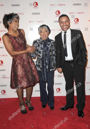 Angela Bassett, Ruby Dee and Lindsay Owen Pierre