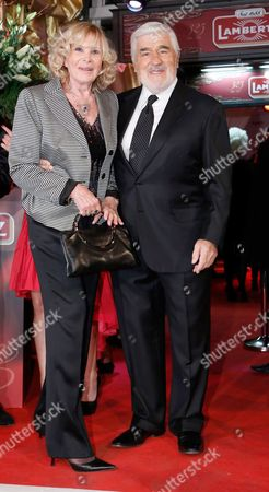 Mario Adorf and wife Monique Adorf