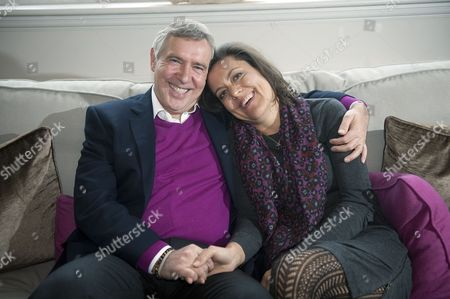 Editorial photo of Andrew Wallas and wife Anna Pasternak, Henley, Britain - 15 Jan 2013