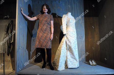 Lady Jill Ritblatt with a Chanel dress designed by Karl Largerfeld
