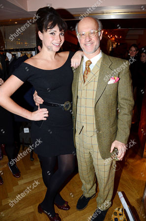 Stock Photo of Gizzi Erskine and Roger Saul