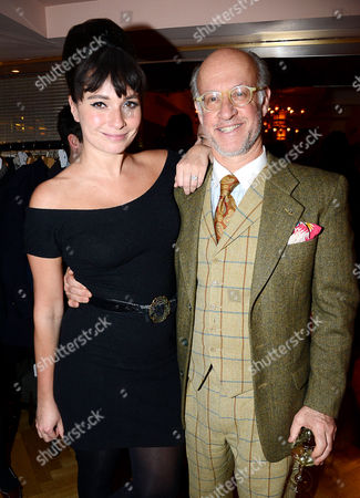 Stock Picture of Gizzi Erskine and Roger Saul